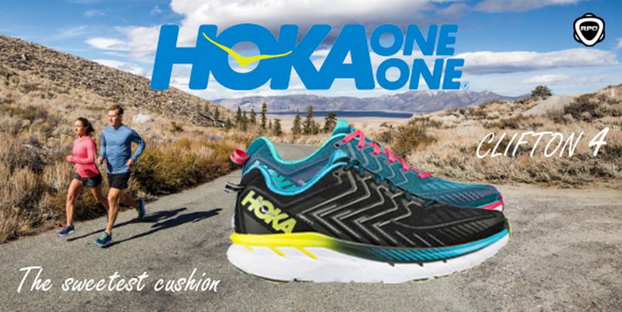 Hoka one one Clifton 4 RPG 2017