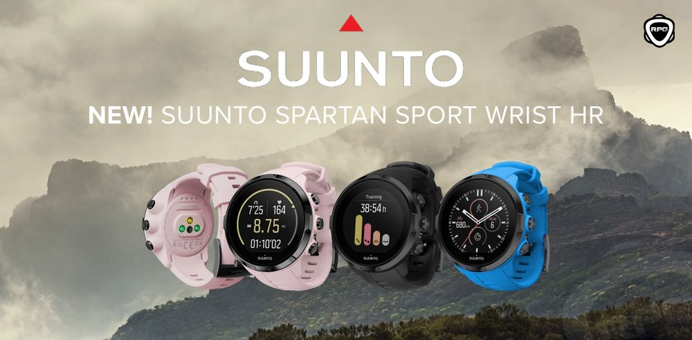 Suunto spartansport wrist HR RPG 2017