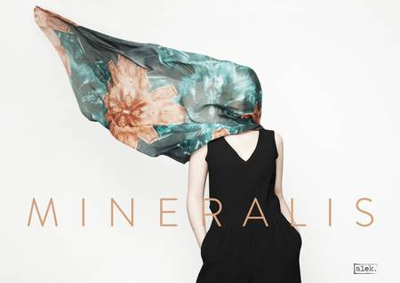 MINERALIS, la nouvelle collection des foulards ALEK