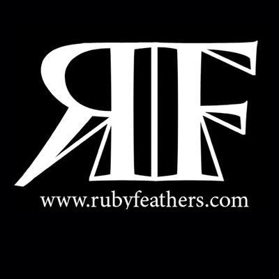 ruby feathers logo