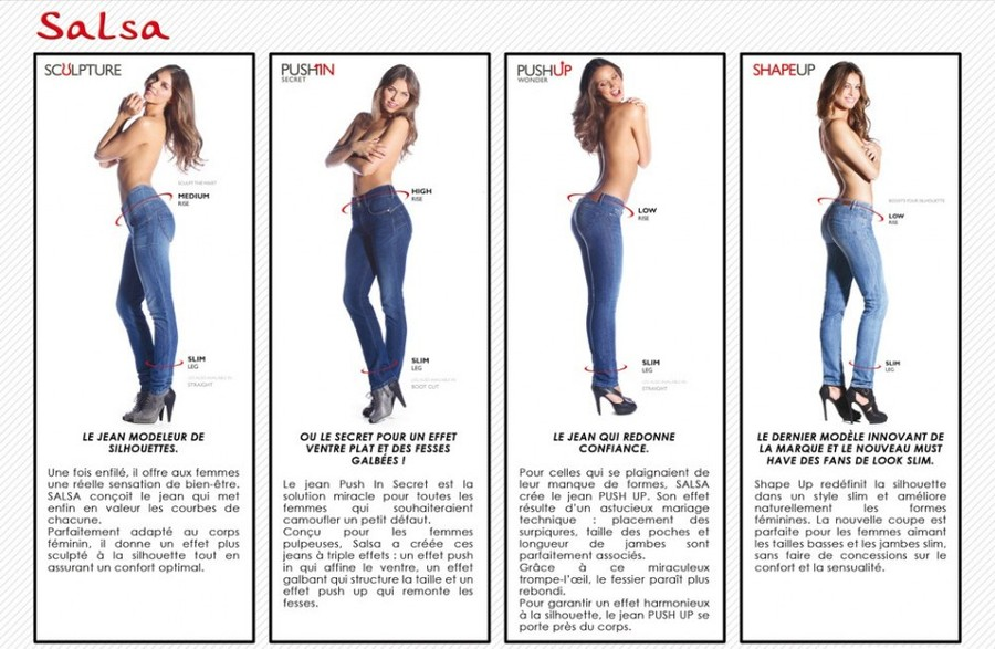 salsa jeans pushup